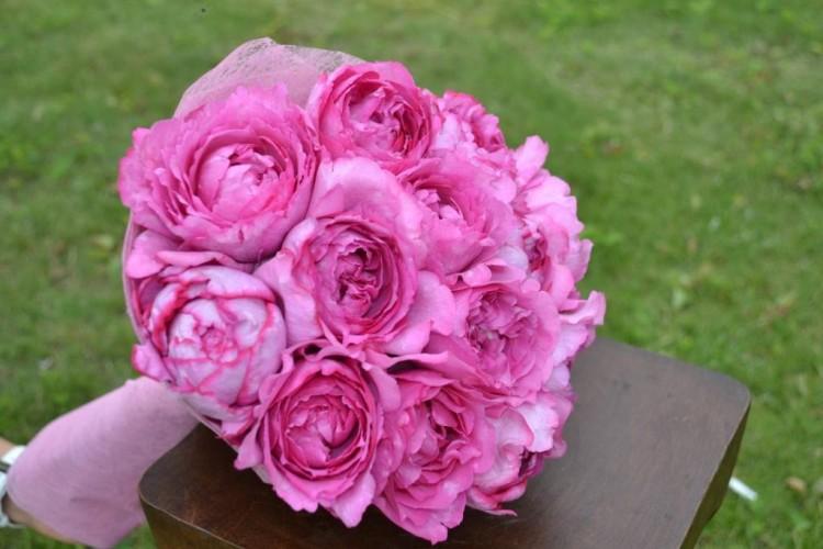 Букет из французких роз Ив_Пьяже