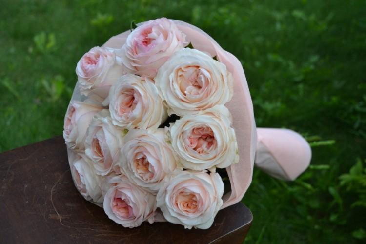 Букет из  роз Анджи Романтика