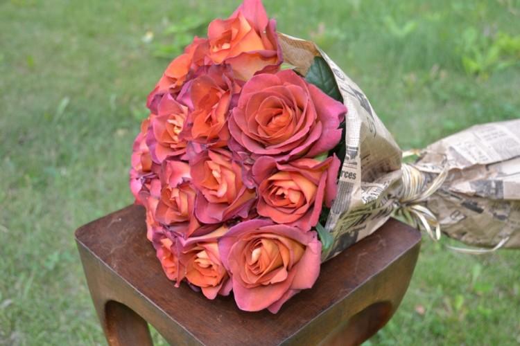 Букет из роз Кофе_Брейк