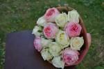 Букет с розами Анджи романтика