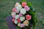 Букет_mix из подмосковных роз